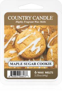 Country Candle Maple Sugar & Cookie illatos viasz aromalámpába