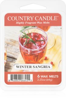 Country Candle Winter Sangria vosk do aromalampy