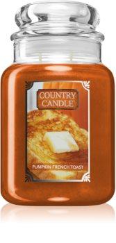 Country Candle Pumpkin & French Toast candela profumata