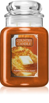 Country Candle Pumpkin & French Toast scented candle