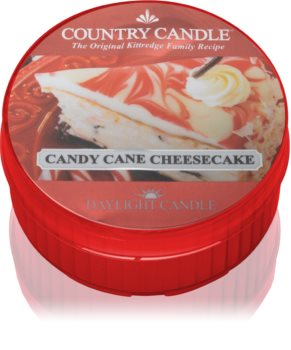 Country Candle Candy Cane Cheescake tealight candle