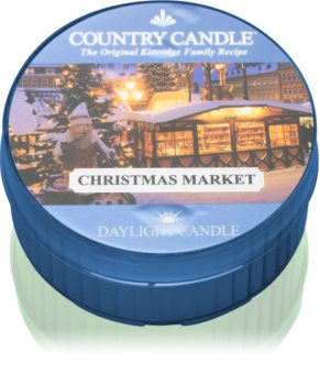 Country Candle Christmas Market teamécses