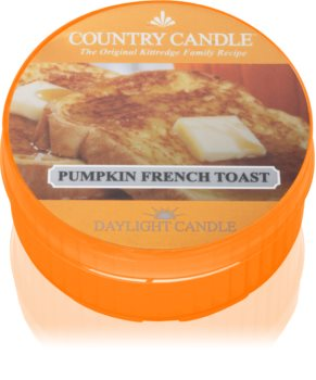 Country Candle Pumpkin & French Toast candela scaldavivande