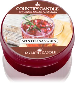 Country Candle Winter Sangria bougie chauffe-plat