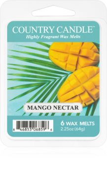Country Candle Mango Nectar κερί για αρωματική λάμπα