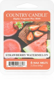 Country Candle Strawberry Watermelon illatos viasz aromalámpába