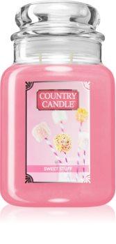 Country Candle Sweet Stuf illatos gyertya