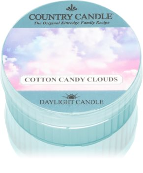 Country Candle Cotton Candy Clouds duft-teelicht