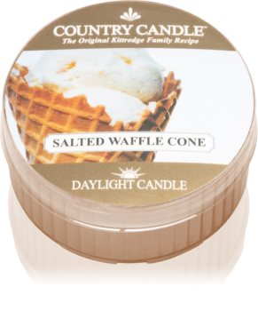 Country Candle Salted Waffle Cone tealight candle