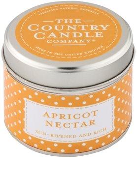 Country Candle Apricot Nectar vela perfumada    en lata