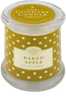 Country Candle Baked Apple vela perfumada    en vidrio, con tapa