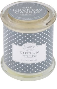 Country Candle Cotton Fields vela perfumado   em vidro com tampa