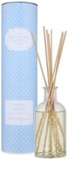 Country Candle Fresh Linen aroma difusor com recarga 100 ml