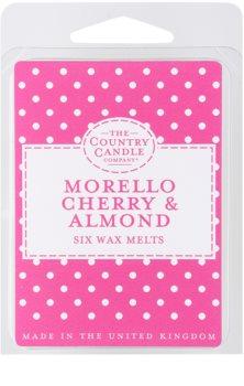 Country Candle Morello Cherry & Almond cera para lámparas aromáticas 60 g