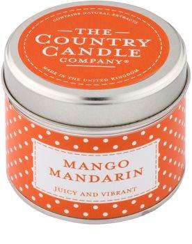 Country Candle Mango Mandarin vela perfumado   Em placa