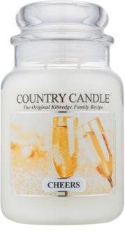 Country Candle Cheers dišeča sveča