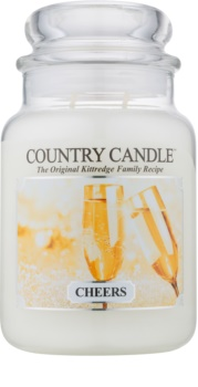 Country Candle Cheers scented candle