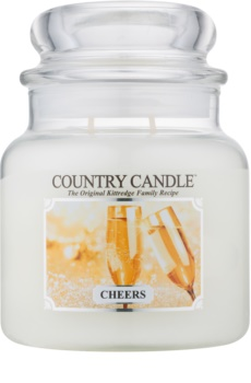 Country Candle Cheers dišeča sveča