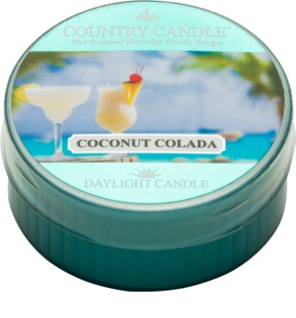 Country Candle Coconut Colada teamécses