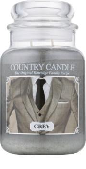 Country Candle Grey illatos gyertya