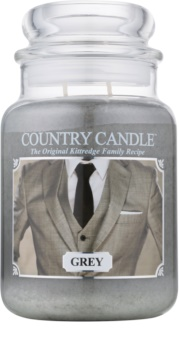 Country Candle Grey scented candle