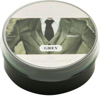 Country Candle Grey świeczka typu tealight