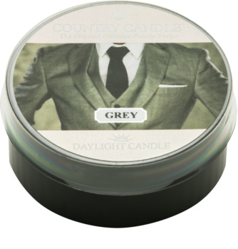 Country Candle Grey tealight candle