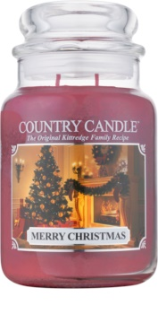 Country Candle Merry Christmas vonná sviečka