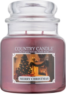 Country Candle Merry Christmas bougie parfumée