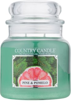 Country Candle Pine & Pomelo ароматна свещ