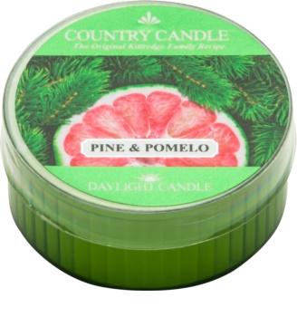Country Candle Pine & Pomelo tealight candle