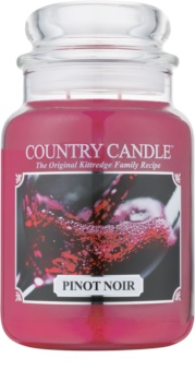 Country Candle Pinot Noir bougie parfumée