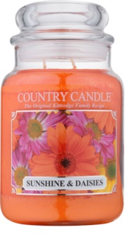 Country Candle Sunshine & Daisies duftkerze