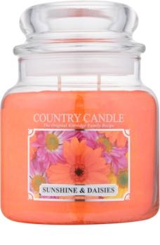 Country Candle Sunshine & Daisies vonná sviečka