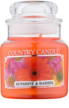 Country Candle Sunshine & Daisies candela profumata