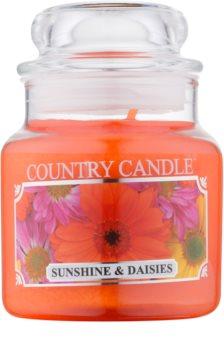 Country Candle Sunshine & Daisies vela perfumada