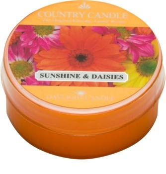Country Candle Sunshine & Daisies świeczka typu tealight