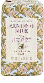 Crabtree & Evelyn Almond Milk & Honey sabonete hidratante