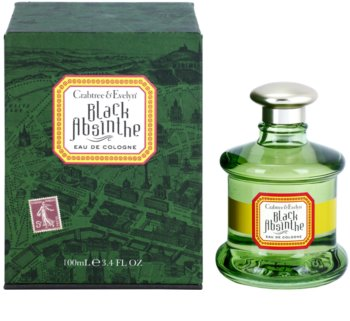 Crabtree & Evelyn Black Absinthe Eau de Cologne para homens 100 ml