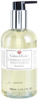 Crabtree & Evelyn Caribbean Island Wild Flowers sabonete líquido para mãos
