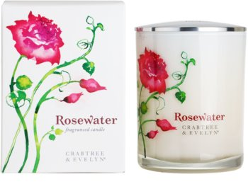 Crabtree & Evelyn Rosewater vela perfumada   cm  (Fragranced Candle)