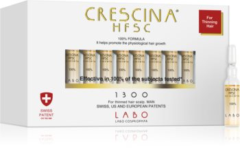 Crescina 1300 Re-Growth péče pro podporu růstu vlasů pro muže