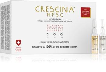 Crescina 500 Re-Growth and Anti-Hair Loss pielęgnacja wspierająca porost włosów i zapobiegająca wypadaniu włosów dla mężczyzn