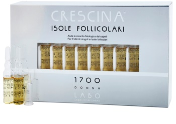 Crescina HAIR FOLLICULAR ISLANDS 1700 ampola contra a queda de cabelo inicial para mulheres