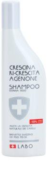 Crescina Re-Growth Agenone 1300 champô contra a queda de cabelo avançada para mulheres