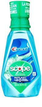 Crest Scope Outlast elixir bocal para hálito fresco