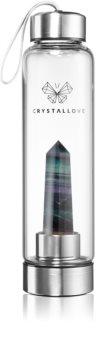 Crystallove Bottle Amethyst bottiglia per l'acqua