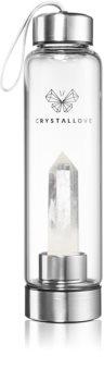 Crystallove Bottle Clear Quartz Wasserflasche
