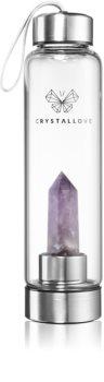 Crystallove Bottle Amethyst Wasserflasche