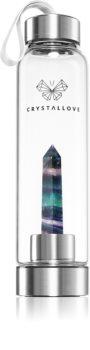 Crystallove Bottle Fluorite Vesipullo